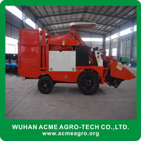 ACME picker and peeling function mini corn maize combine harvester (skype/wechat: sherlley88, whatsapp: 008618971112939)