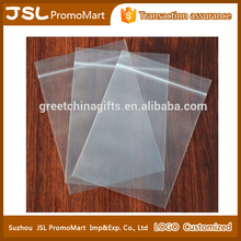 Cheap Promotional Customize Different Sizes Disposable Transparent PE Plastic Zippered Packaging Bags for Nuts, Ornament and All