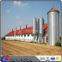 prefab chicken poultry house steel structure building