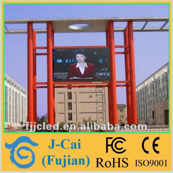 large outdoor advertising led board p20 led video wall