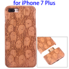 Cherry Wood Protective Back Shell Case for iPhone 7 Plus Wood Cover