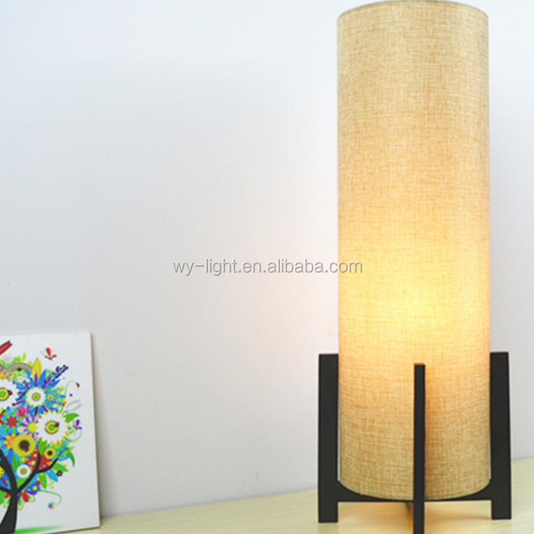 Small Convenient Type Cloth Art Material Led Desk Lamp