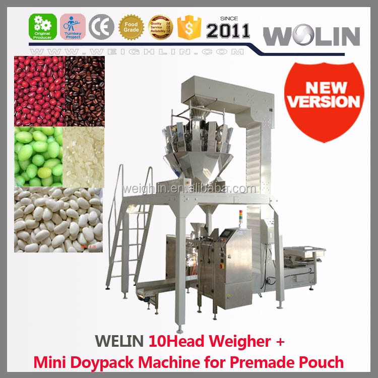 Welin factory supply high quality customized tailored flexible packaging production line turnkey solution system food nonfood