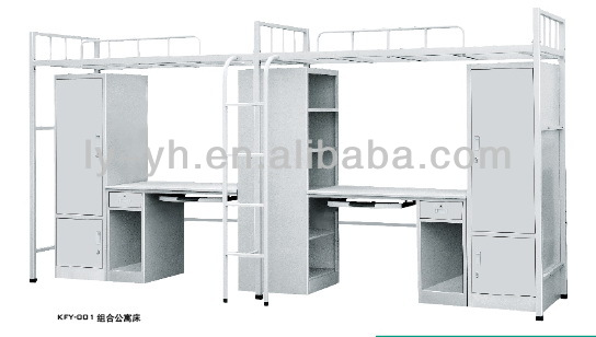 Steel student bunk bed