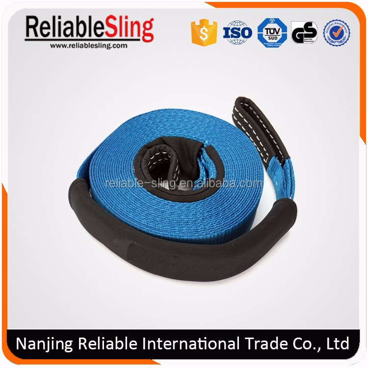 custom polyester heavy duty boat tow rope