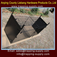 LB Large Humane Live animal Trap Cage Fox Feral Cat Traps Popular in Australia Market China Manufacture