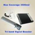 Promotion hot sale tri-band gsm/dcs/wcdma mobile signal repeater extender wireless communication equipment
