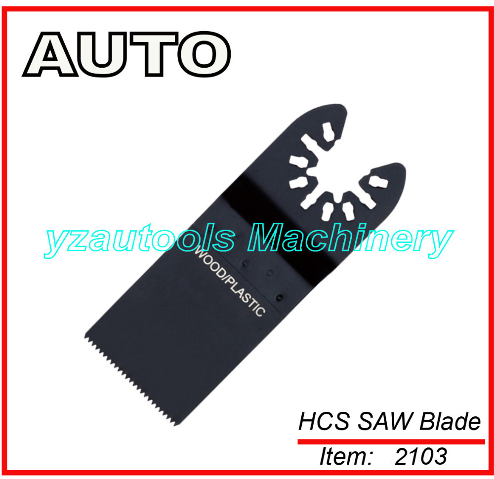 "34mm (1-3/8"") Quick Fit Oscillating Wood Saw Blade"