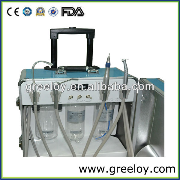 Mini Transported Portable Dental Unit with Air Compressor