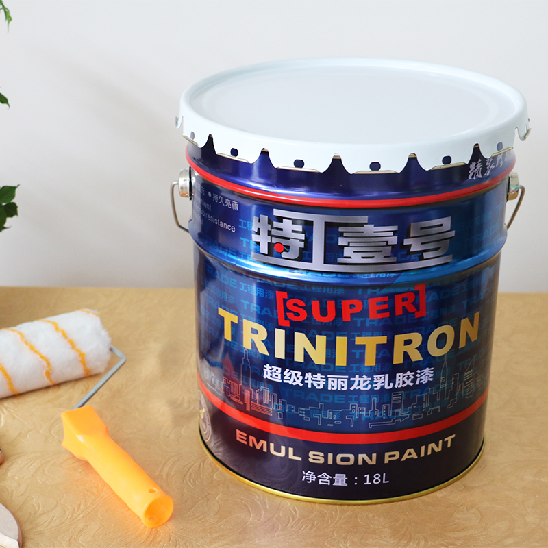 All in one formaldehyde free interior emulsion paint