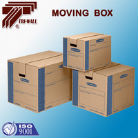 Heavy Duty Corrugated Office House Moving Box / Moving House Box