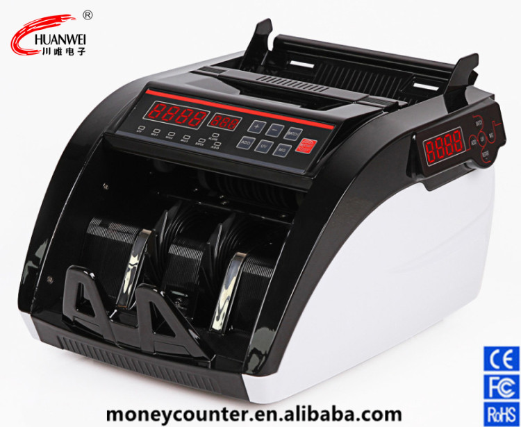 Intelligent Banknote Counter With Two Screens Currency Detector