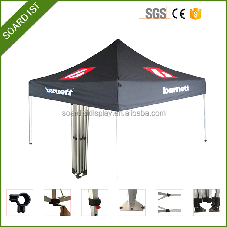 Dye sub print hexagonal shape pop up folding tent for outdoor event