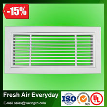 high quality hvac ventilation aluminum ceiling air conditioner air intake louver