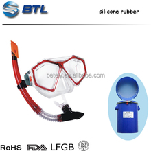 FDA Approved Transparent Liquid Silicone Rubber For Making Soft Silicone Swimming Goggles