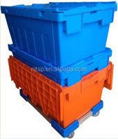 Stacked Moving Plastic Home Storage Tote