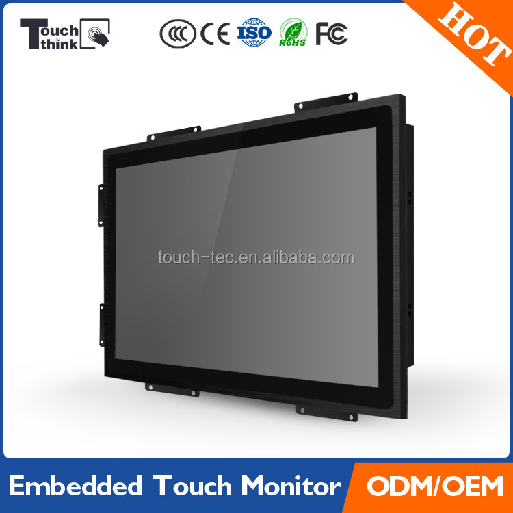 durable touch screen monitor, touch screen monitor 19 inch for pos