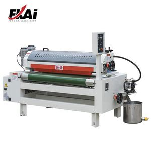 UV Lacquer Roller Coating Machine For Wood Board