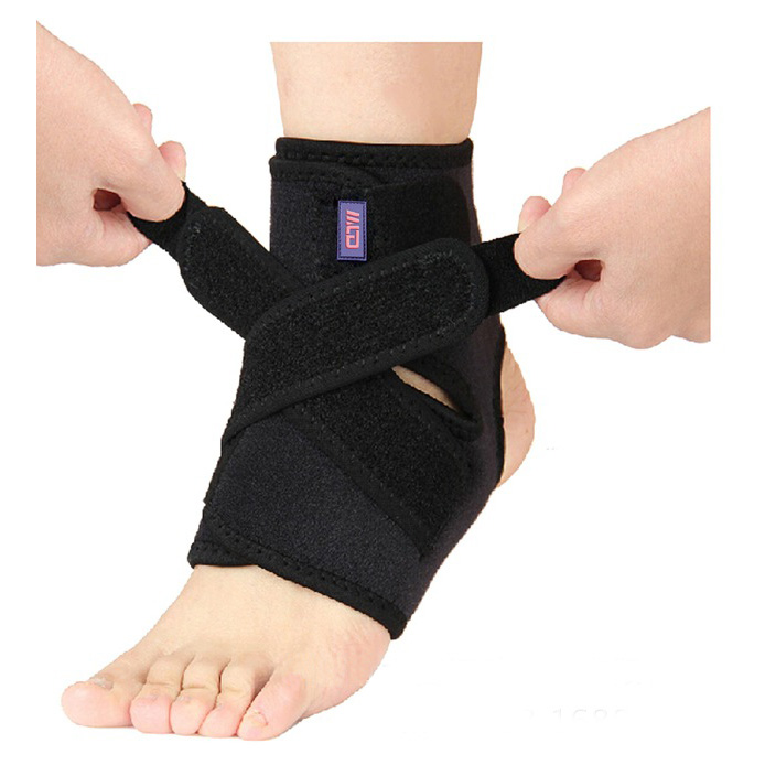 Hot Sell Elastic Ankle Brace Support Band Sports Gym <strong>Protects</strong> Therapy With OEM Service