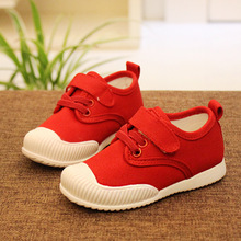 FC2489 summer spring 2016 Child Canvas Shoes Flats PVC Outsole High Quality Casual Kid Shoe
