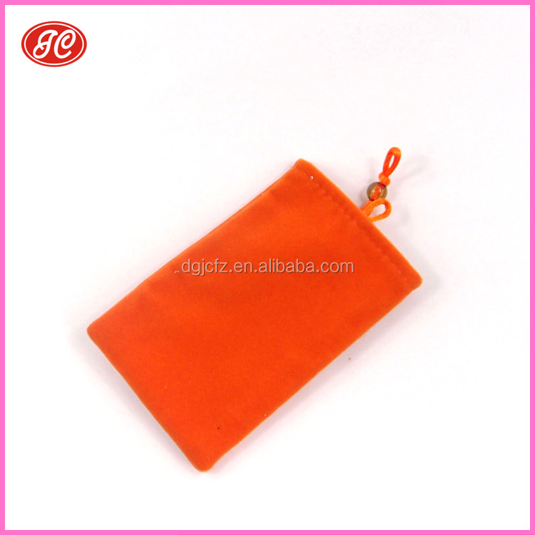 microfiber sunglasses opp bag/new design mobile phone pouch waterproof