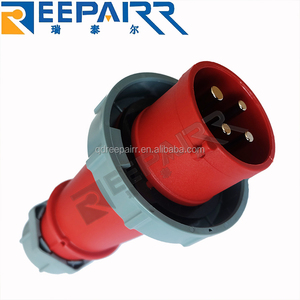 Factoty Direct Supply High Performance Waterproofing 3P+E CTF3-2/15 CTF3-2/16 IP67 Marine Reefer Container Power Plug Connector