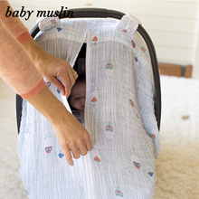 A40 New Design Baby Carseat Cover Nursing Breastfeeding Cover Scarf Cotton Bamboo Baby Car Seat Canopy Diy