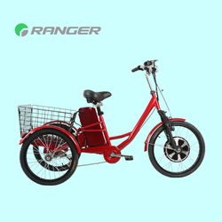 china cargo tricycle with 36V 12Ah lead acid battery