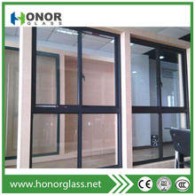 2017 Modern house aluminum windows style of window grills design for sliding windows
