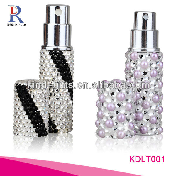 Bling Bling Rhinestone Samsara Perfume Perfume Bottle With Crystal China Factory