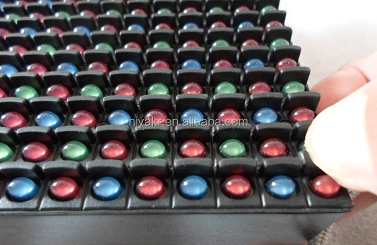 Niyakr Top Ten LED Manufacturers P16 Rgb Full Color Rubber Mask Outdoor Football Stadium Led Display