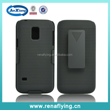 clip holster combo case for Samsung galaxy s5mini