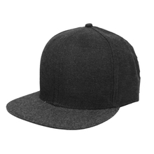 Guangzhou Snapback Cap Factory Use Best Material For Blank Rope Bill Corduroy Flat Brim Snapback Cap