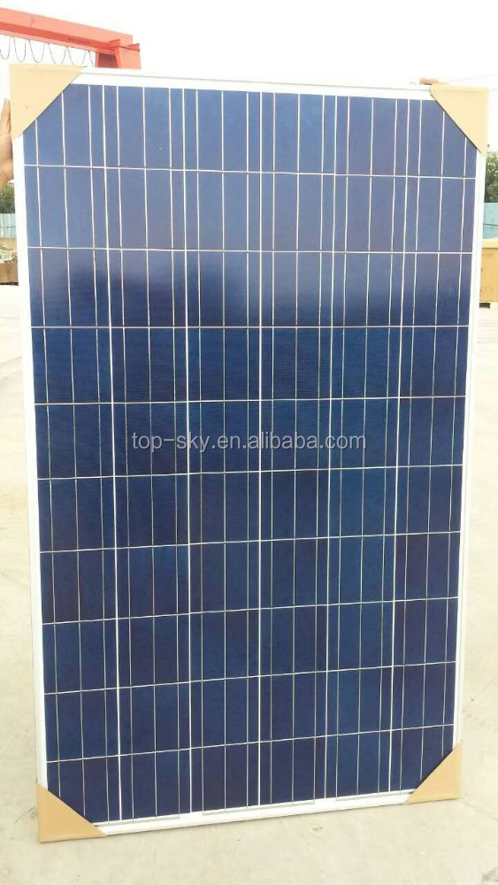 BYD 250W 255w poly solar panel low price with TUV/IEC/CE certificates made in China solar panel for home system