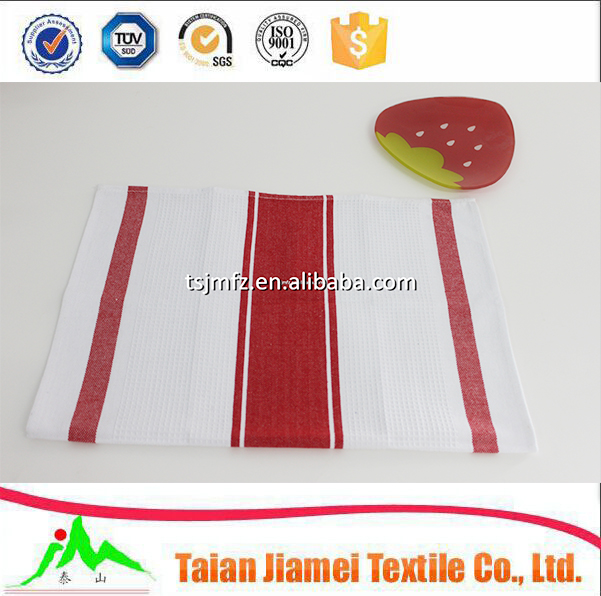 yarn dyed dish cleaning towels cotton kitchen hand towels wholesale supplier