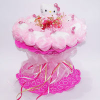 Customized OEM ! teddy bear plush toy bouquet