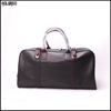 New full grain leather travel bag / leather weekend bag / mens duffle bag