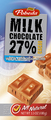 milk chocolate 27% cocoa
