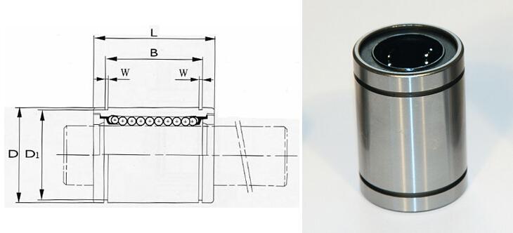 LM30UU linear motion ball bearings 30x45x64 mm LM30 linear bearing Qty.10