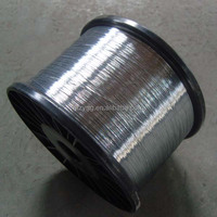 galvanized flat spring steel wire bruce used, hot dip galvanized wire 1.3mm