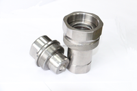 stainless steel male female high pressure quick connect coupler clamp pipe fitting