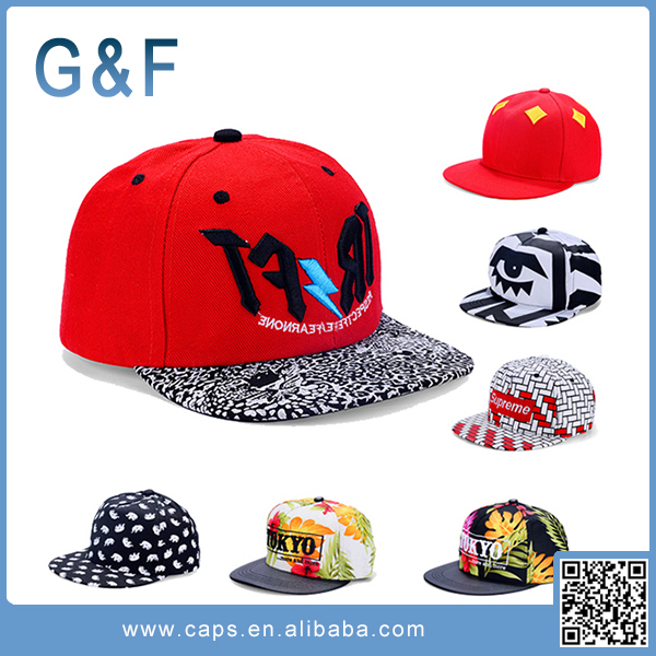 New Design Plain Snapback Hats Wholesale