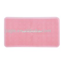 (J-6637)Popular PVC thick grass massage bottom bath mat with suction cups