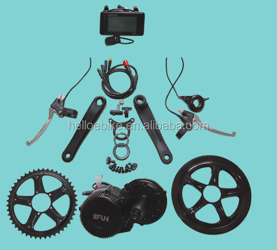 BAFANG 8FUN BBS02 36V 500W MID DRIVE MOTOR KIT electric bike motor mid drive