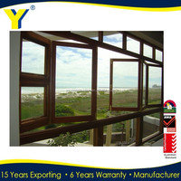 Wrought Iron Window Modern Price Door Window Accordion with Window Folding Screen YY construction