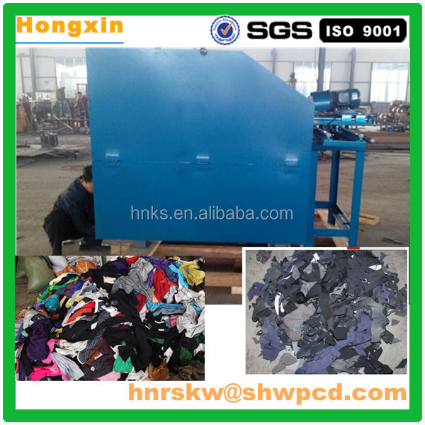 2016 waste Fiber cloth recycle machine