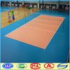 Indoor volleyball court PVC vinyl sports flooring with 8.0mm thickness