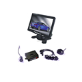 Car Video Parking Sensor System with 7 inch Monitor and Backup Camera