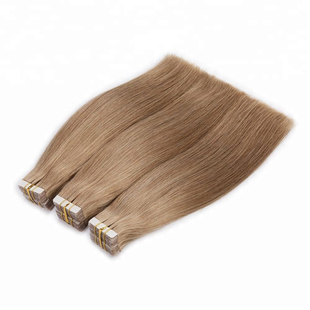Grade 9a virgin tape hair extensions,tape in hair extensions human,super double drawn brazilian tape hair extension human hair