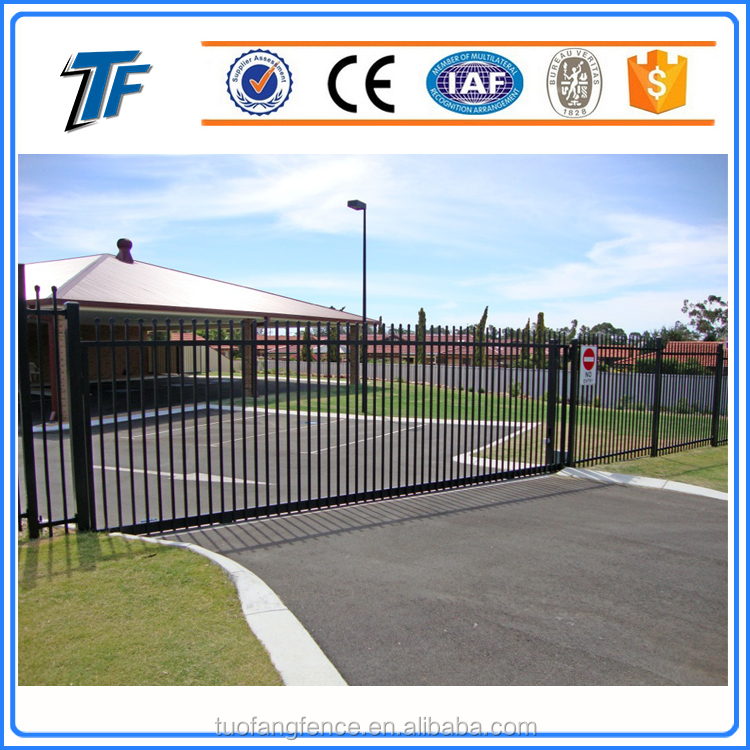 2017 High Quality Cheap Aluminum Square Tube Connector Color Steel Fence Panel